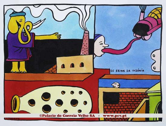 Ratoeira (os seios da insónia)