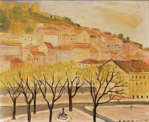 Lisboa - vista do Castelo de S. Jorge