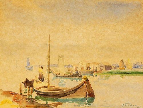 Barcos na Ria - Torreira