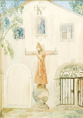 Entrada do Convento dos Capuchos na Arrábida