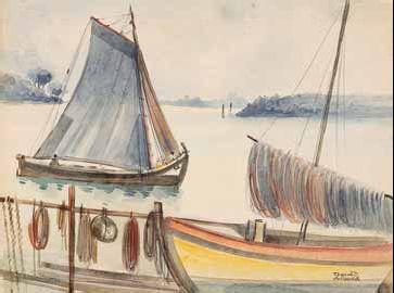 Barcos no Tejo