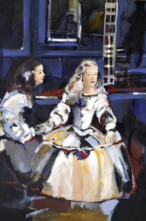 Diálogo surdo (Meninas de Velázquez)