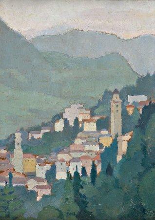 Paisagem de Lugano