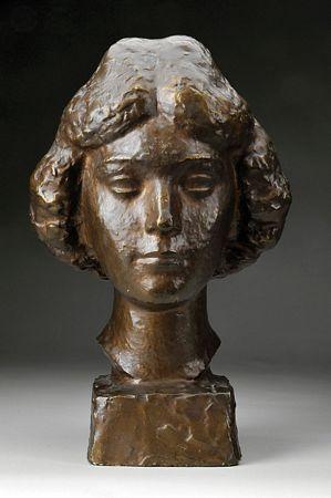 """Busto de Florbela Espanca"""