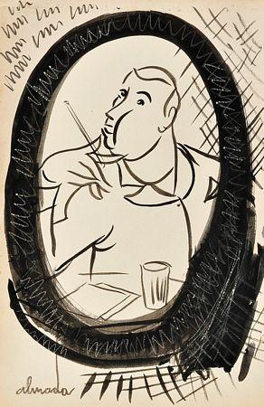 """""""Retrato do poeta Mário de Sá-Carneiro ao espelho"""""""