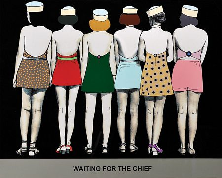"""""""Waiting for the chief"""""""