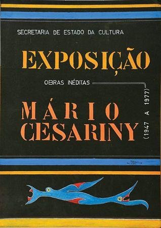 """""""Cartaz Exposição Mário Cesariny"""""""