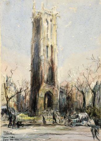 """""""Torre de Saint-Jacques - Paris"""""""