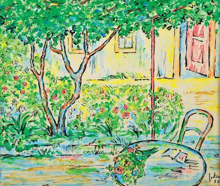 """Vista de jardim"""
