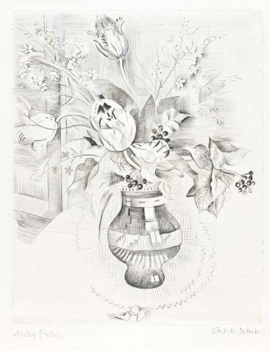 Natureza morta com flores