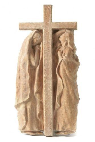 Calvário com Nossa Senhora e Maria Madalena