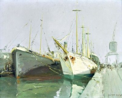 Barcos na doca - Alcântara