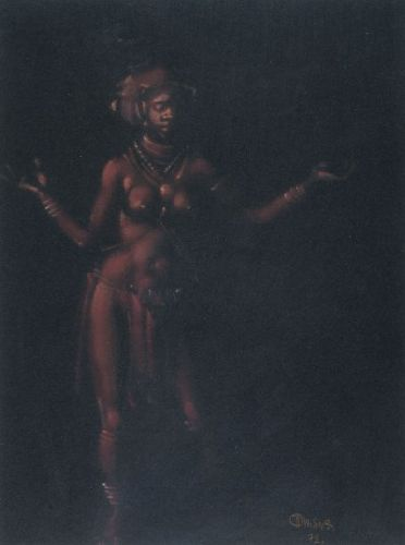 Bailarina africana