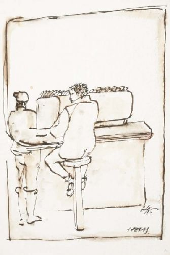 Balcão de bar