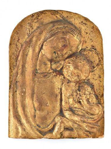 Nossa Senhora com o Menino Jesus - ensaio
