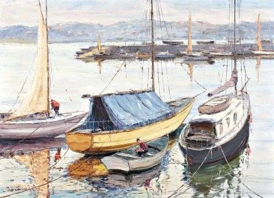 Barcos de recreio - Belém - Lisboa