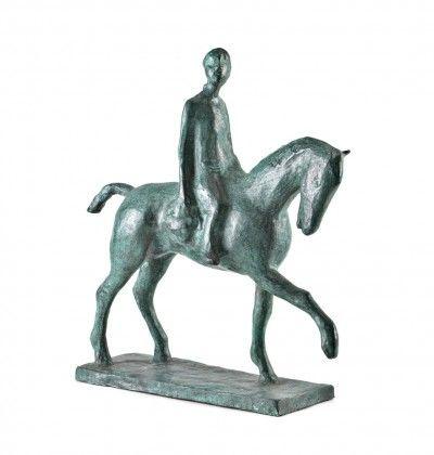 Cavalo com cavaleiro