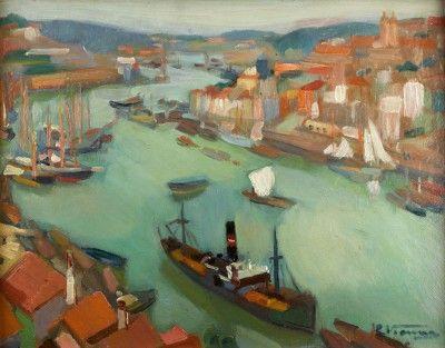 Vista do Porto e do rio Douro