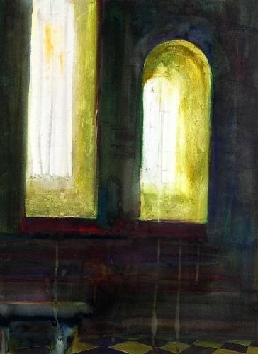 Interior de igreja