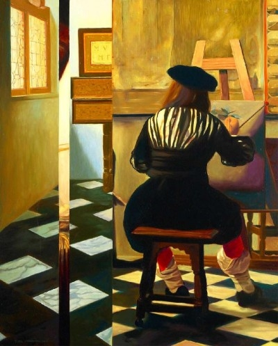 Sem título - O pintor