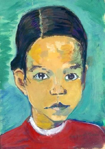 Auto-retrato (em criança)