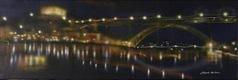 Porto - Ponte da Arrábida à noite