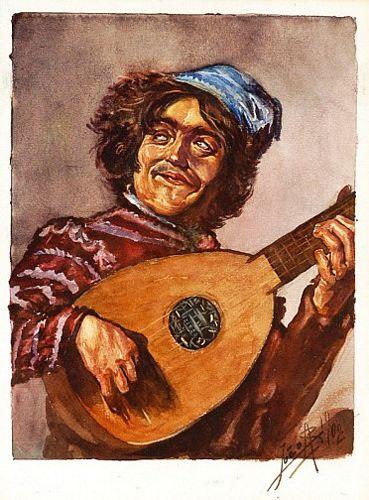 Homem com guitarra