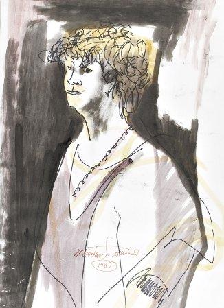 Retrato de Dorita