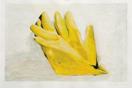 """Yellow gloves (study)"""