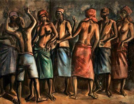 """""""Africanos a dançar"""""""