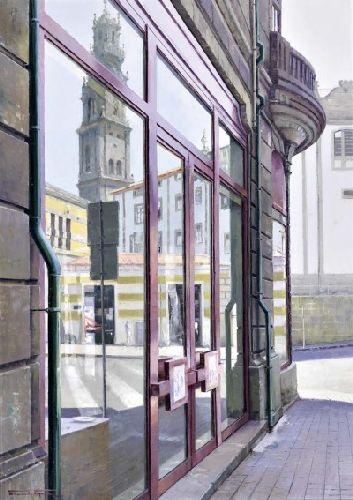 Rua da cidade do Porto