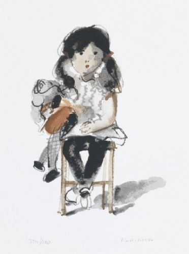 Criança com boneca