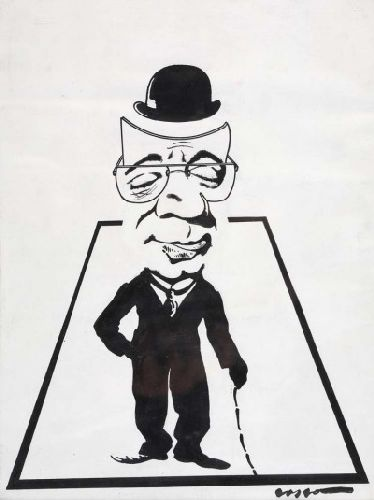 Caricatura de Raúl Solnado