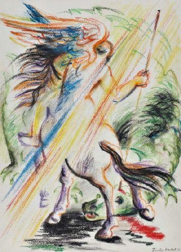 Arcanjo Gabriel e o dragão