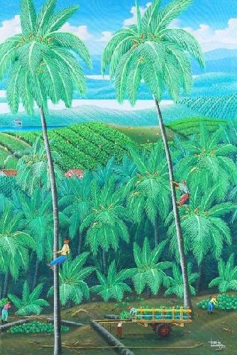 Sem título - Paisagem tropical