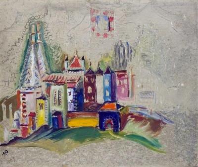 Vista da vila de Sintra