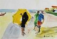Sem título - Figuras na praia