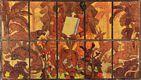 Cartão para vitral do Café Colonial