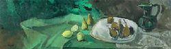 Bodegon en verdes