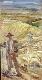 Paisagem com pastores e rebanho