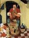 Evocação pintura flamengo do séc. XVI