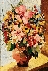 Natureza morta - Vaso com flores
